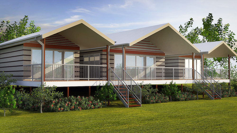 Kit home designs granny flats eco homes duplex and for Kit homes duplex